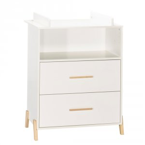 Commode avec dispositif à langer joy naturel
