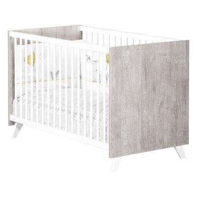 Lit bébé 60x120cm scandi gris Baby price