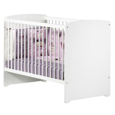 Lit bébé 60x120cm blanc Baby price