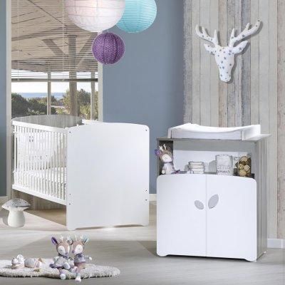 Lit bébé évolutif little big bed 70x140cm leaf Baby price