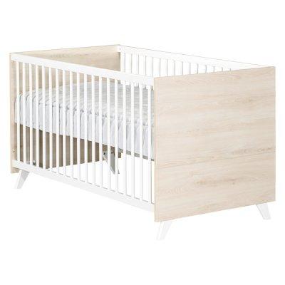 Lit bébé évolutif little big bed 70x140cm scandi naturel Baby price