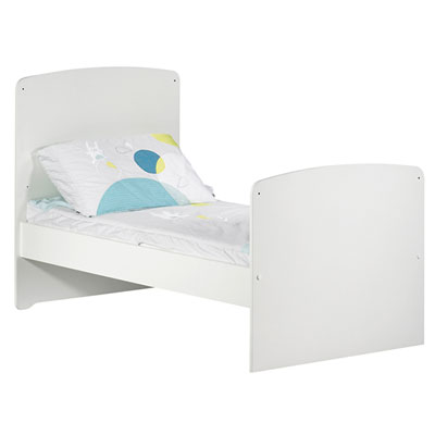 Lit bébé évolutif little big bed 70x140cm blanc Baby price