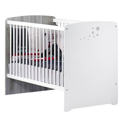 Chambre bébé trio nao lit 60x120cm + commode + armoire Baby price