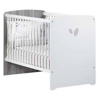 Chambre bébé trio leaf lit 60x120cm + commode + armoire Baby price