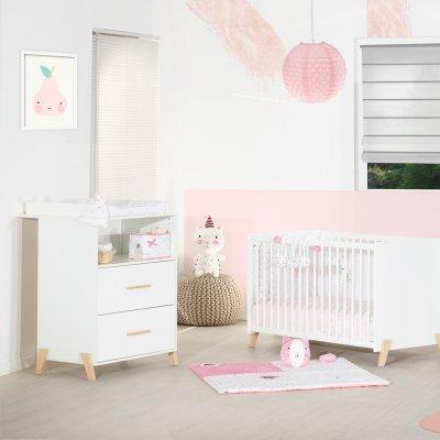 Commode avec dispositif à langer joy naturel Baby price