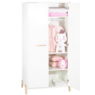 Armoire chambre bébé 2 portes joy naturel Baby price