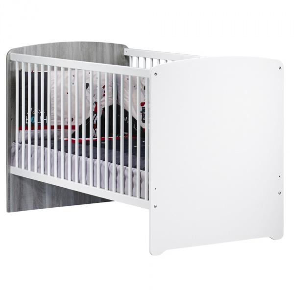 Lit bébé évolutif little big bed 70x140cm nao