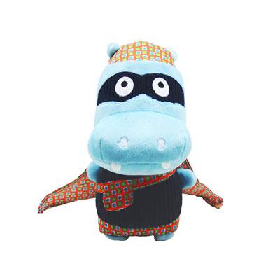 Peluche bébé l'hippopotame zipo Super zeroes