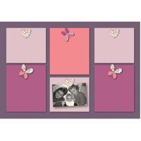 Pêle-mêle bébé 6 vues prunelle et mademoiselle