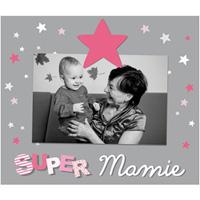 Cadre photo bébé à poser super mamie