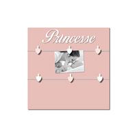 Pêle-mêle bébé 6 vues princesse et mademoiselle rose boudoir