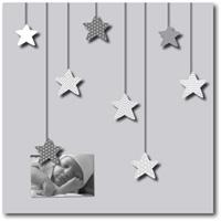 Pêle-mêle bébé 8 vues des étoiles plein les yeux gris
