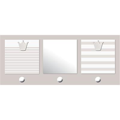 pat re chambre b b avec miroir et porte photos 2 vues b b chic lin 5 sur allob b. Black Bedroom Furniture Sets. Home Design Ideas