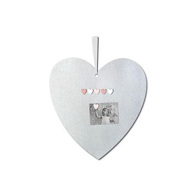 Pêle-mêle bébé coeur magnétique princesse et mademoiselle +6 magnets Titoutam