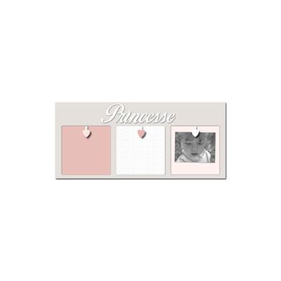 Pêle-mêle 3 vues princesse et mademoiselle rose boudoir Titoutam