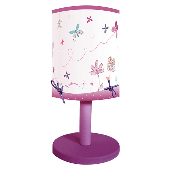 Lampe de chevet prunelle et mademoiselle de titoutam chez for Lampe de chevet chez ikea