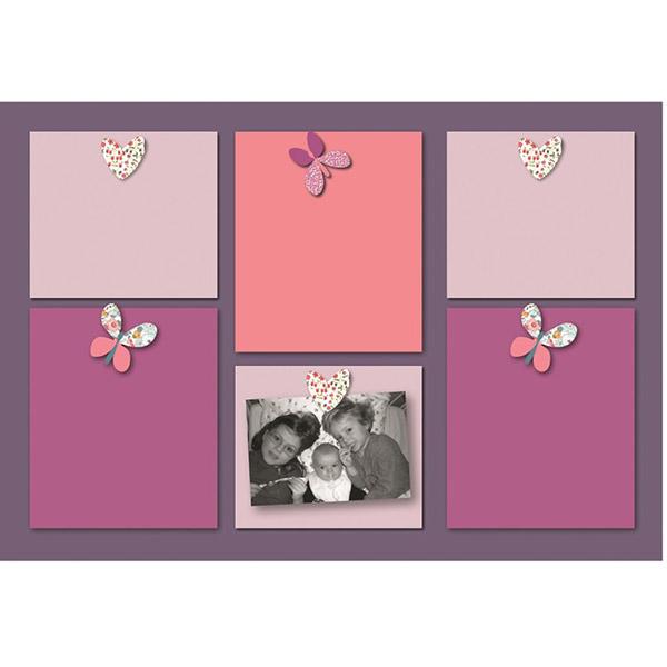 Pêle-mêle bébé 6 vues prunelle et mademoiselle Titoutam