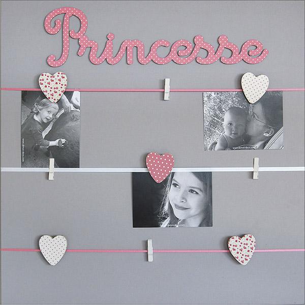 Pêle-mêle bébé 9 vues princesse Titoutam
