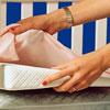 Plan incliné bébé coton déhoussable 55 x 35 cm Angelcare