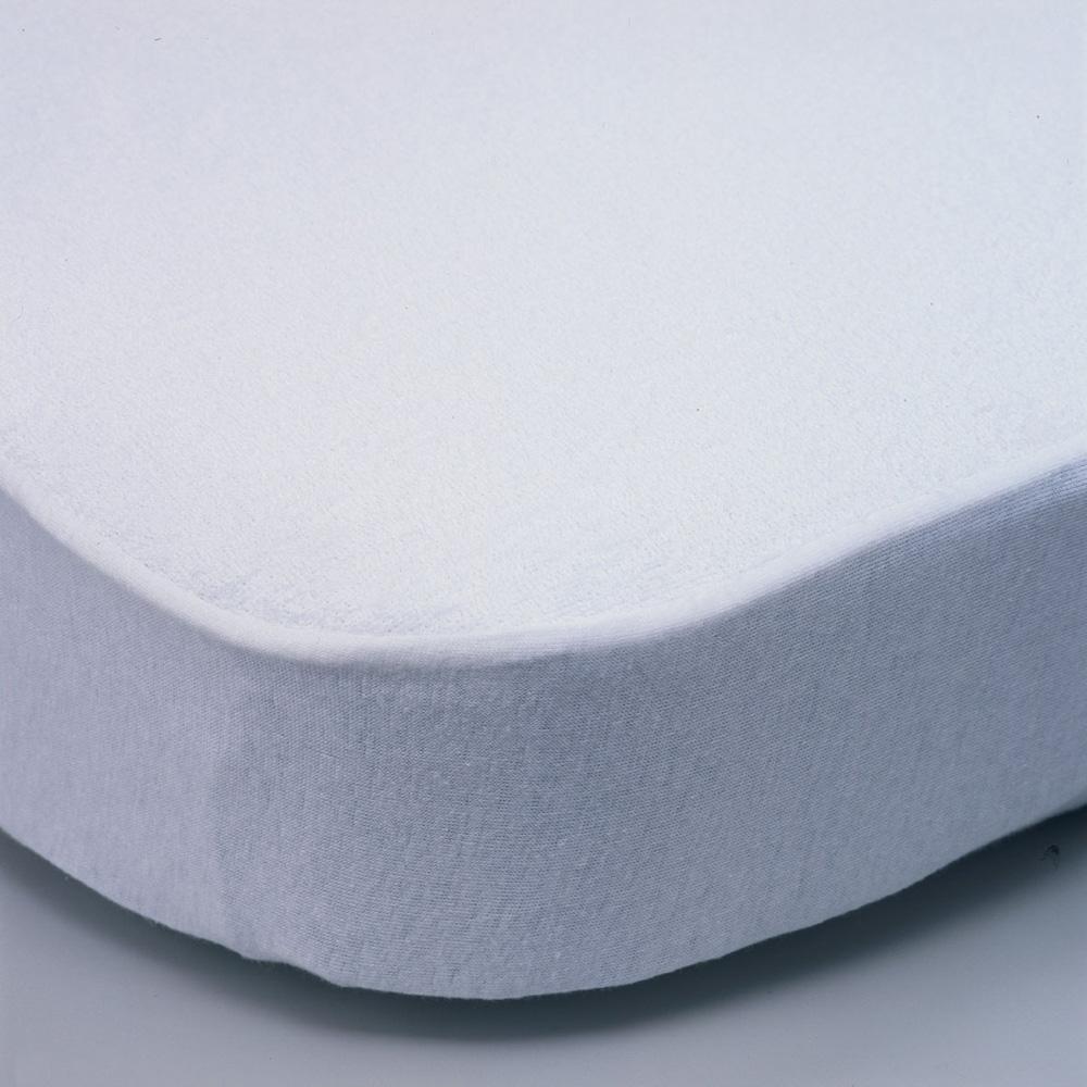 al se lit b b en coton blanc 60x120cm de angelcare chez naturab b. Black Bedroom Furniture Sets. Home Design Ideas
