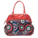 Sac à langer lilly rouge pas cher