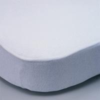 Alèse en coton 60 x 120 cm blanc