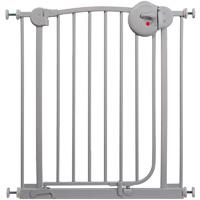 Barrière de sécurité métal gris mat 72-78 cm