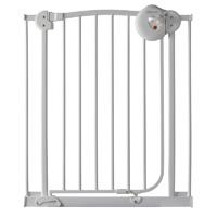 Barrière de sécurité métal blanc 72-78 cm