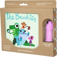 Coffret the brushies brosse à dents + livre pinkey le cochon rose