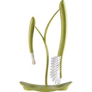 Goupillon biberon + support vert