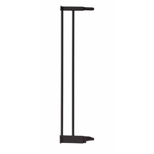 Extension 12.4 cm pour barrière de porte métal noir