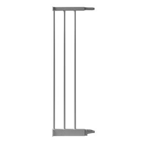Extension 18.6 cm pour barrière de porte métal gris
