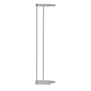 Extension pour barrière de porte métal blanc 12.4cm