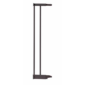 Extension barrière sécurité bébé pour porte métal marron 12.4cm