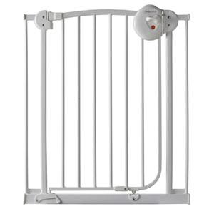 Barrière métal blanc 72 - 78 cm