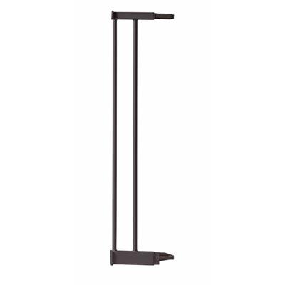 Extension 12.4 cm pour barrière de porte métal taupe Angelcare