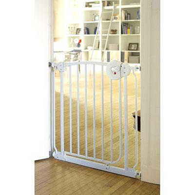 Barrière de sécurité métal blanc 72-78 cm Bellemont
