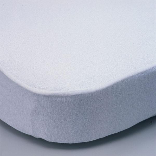 Alèse en coton 60 x 120 cm blanc Bellemont