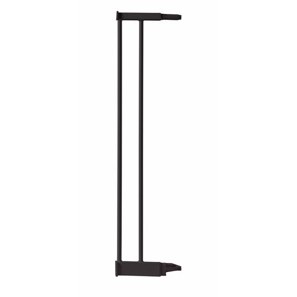 Extension 12.4 cm pour barrière de porte métal noir Angelcare