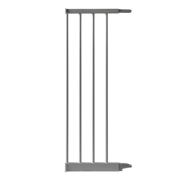 Extension 24.8 cm pour barrière de porte métal gris Bellemont