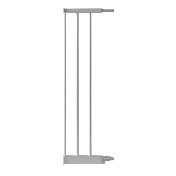 Extension 18.6 cm pour barrière de porte métal blanc Bellemont