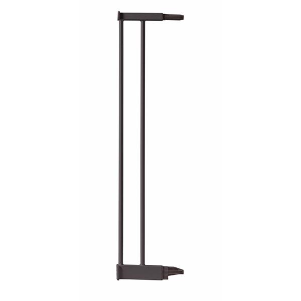 Extension 12.4 cm pour barrière de porte métal taupe Bellemont