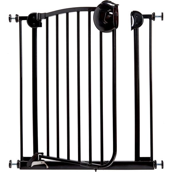 Barrière de sécurité métal laqué noir 72-78 cm Bellemont