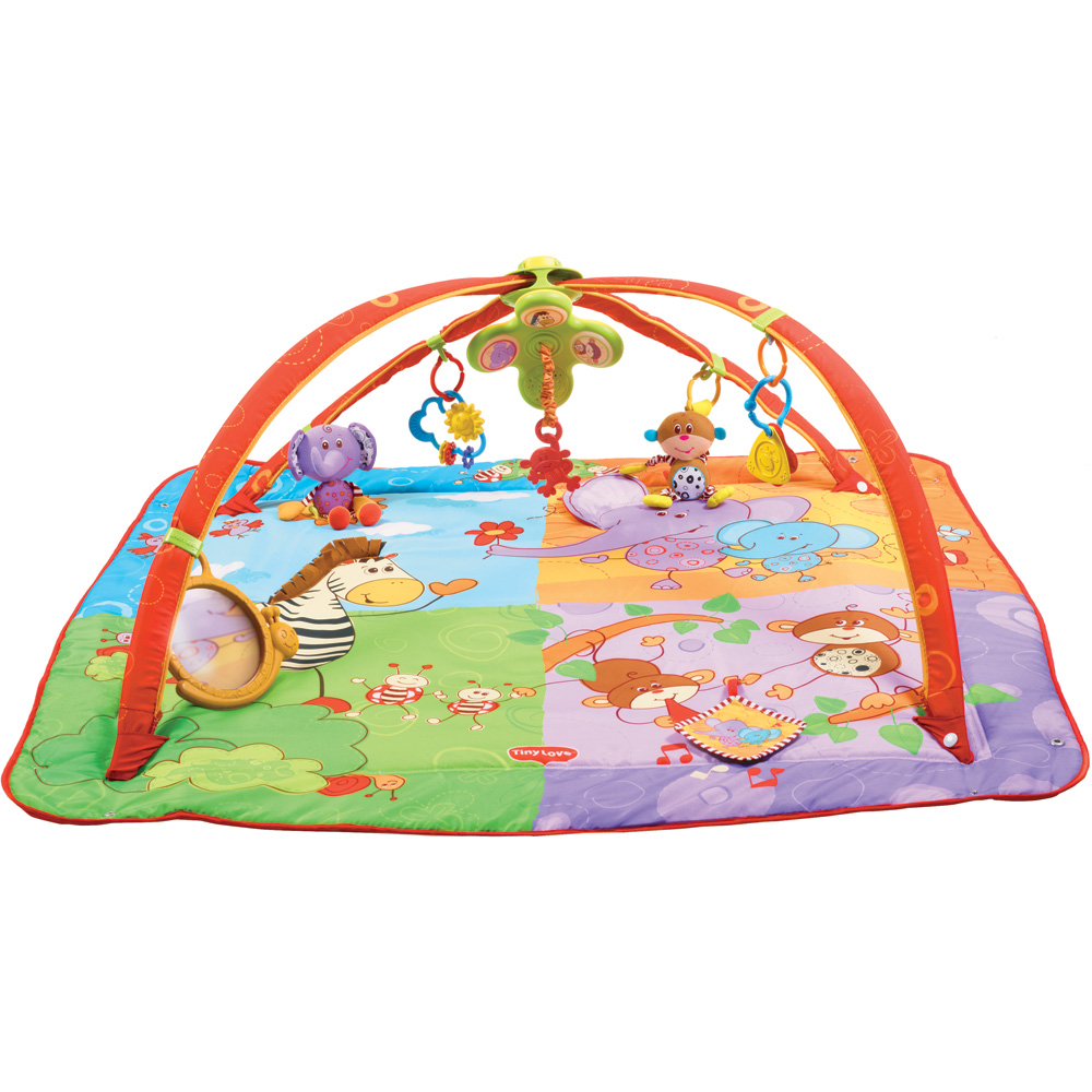 Tiny love tapis d 39 veil gymini move and play de tiny love - Tapis d eveil gymini super deluxe monkey ...