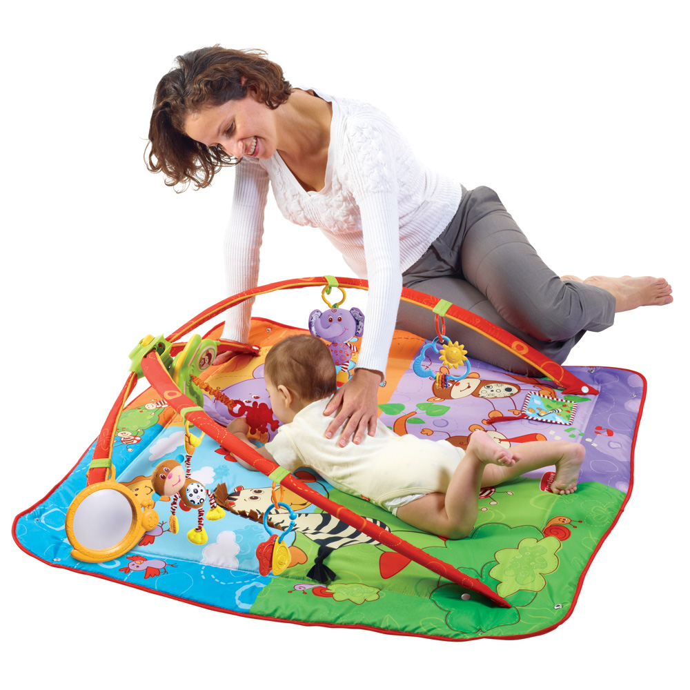 Tiny love tapis d 39 veil gymini move and play de tiny love 3 - Tapis d eveil gymini super deluxe monkey ...