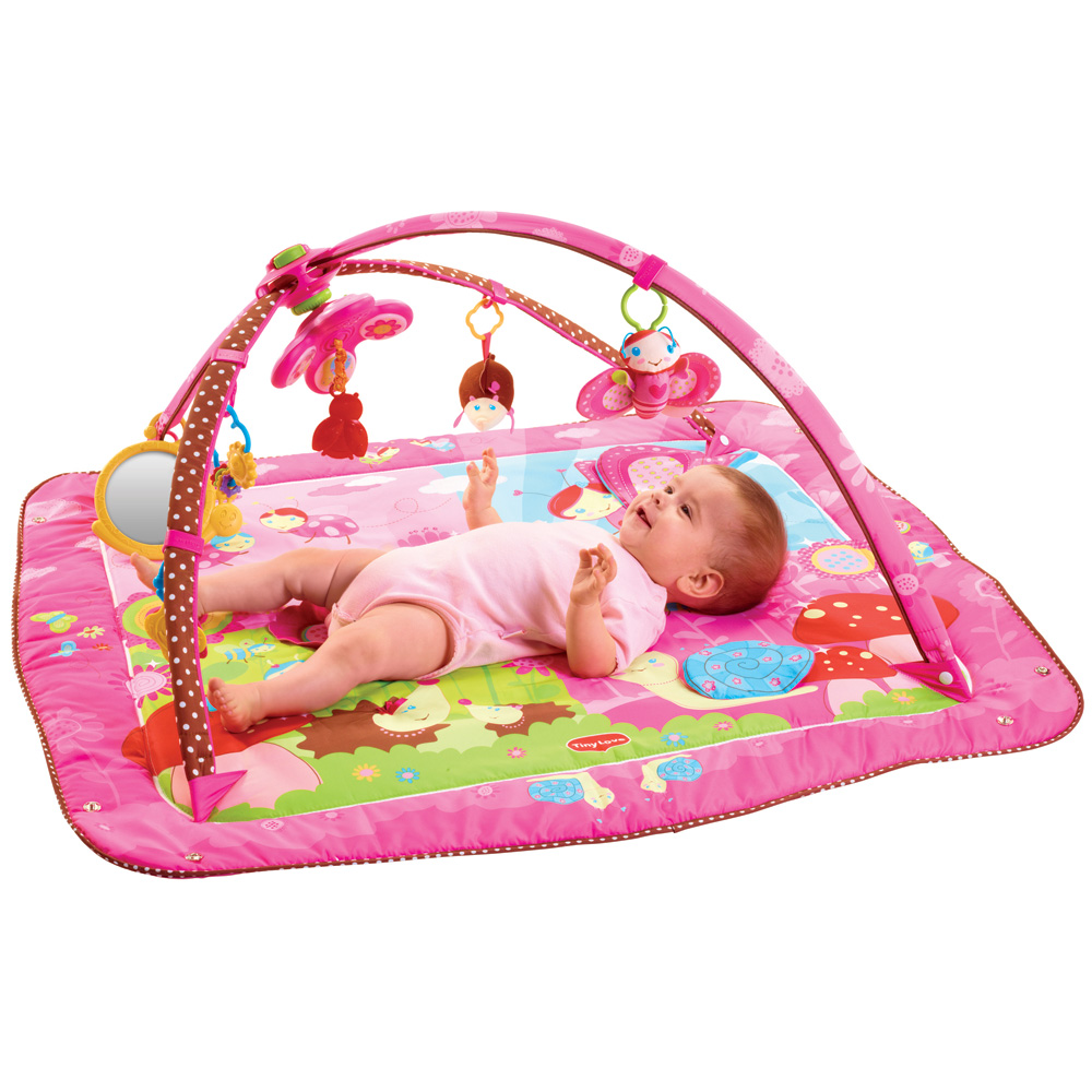 Tapis d 39 veil gymini move and play princesse 25 sur allob b - Tapis d eveil tiny love move and play ...
