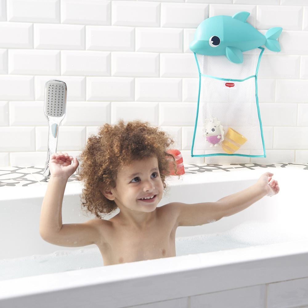 Filet de rangement jouets de bain de Tiny love sur allobébé