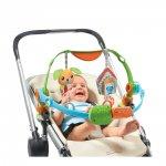 Jouet de voyage bébé arches articulées double spin'n kick