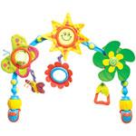 Jouets de voyage bébé arche articulee sunny stroll pas cher