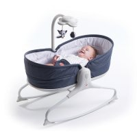 Transat bébé rocker napper evolution blue jean